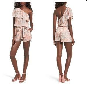 Mimi Chica one shoulder romper